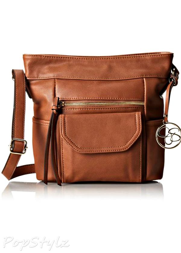 Jessica Simpson Carly Bucket Cross Body Handbag