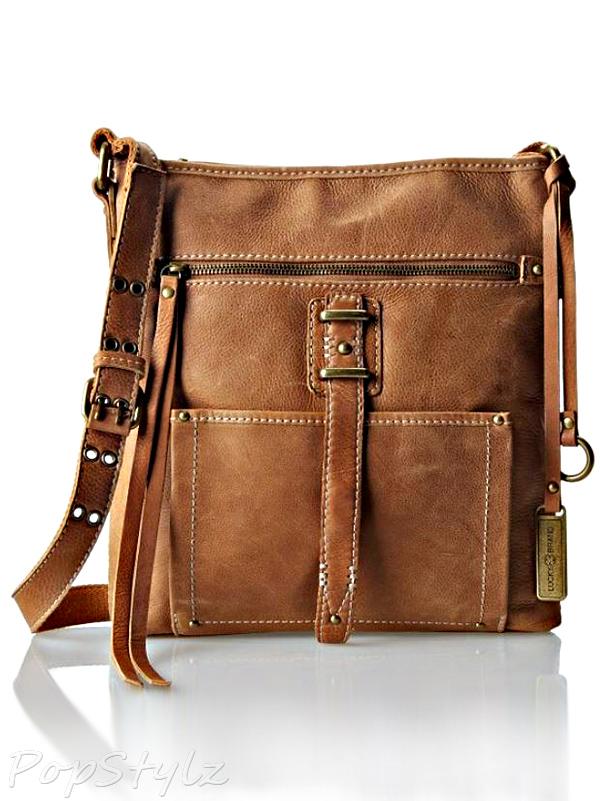 Lucky Brand Ashley Leather Cross Body Bag