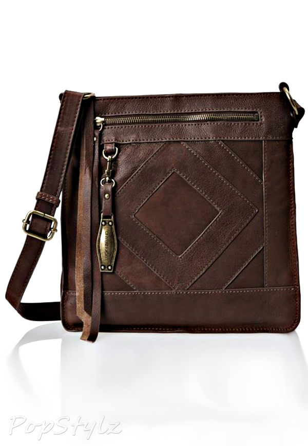 Lucky Brand Baldwin Leather Cross Body Bag