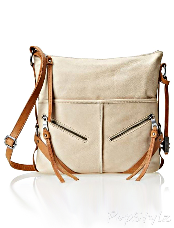 Lucky Brand Delta Leather Cross Body Bag