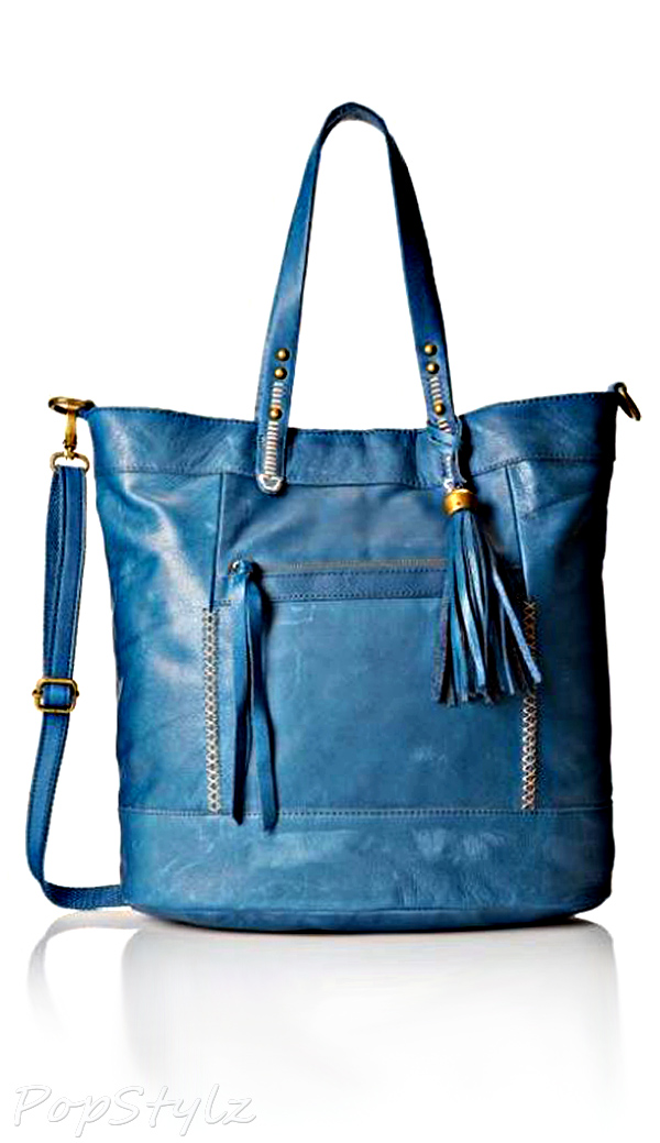 Lucky Brand Karma Leather Travel Tote