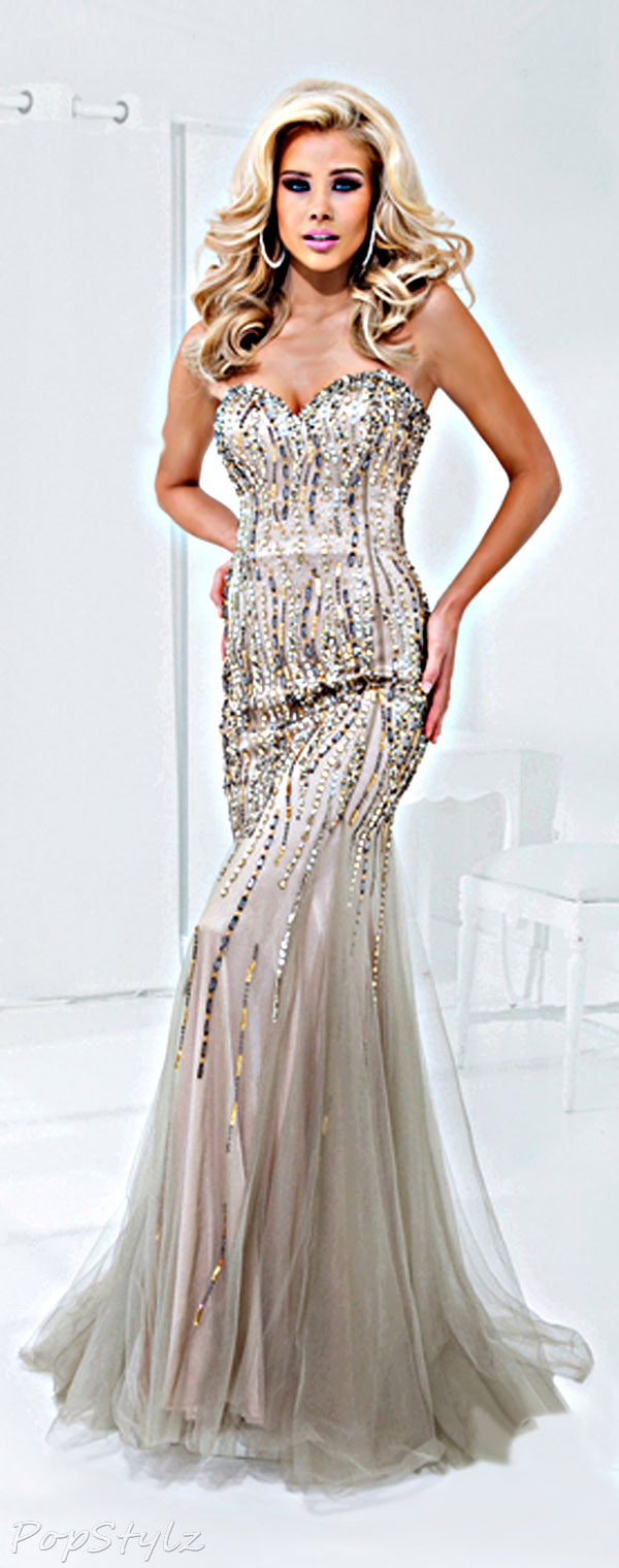 Tony Bowls Paris 114724 Evening Gown