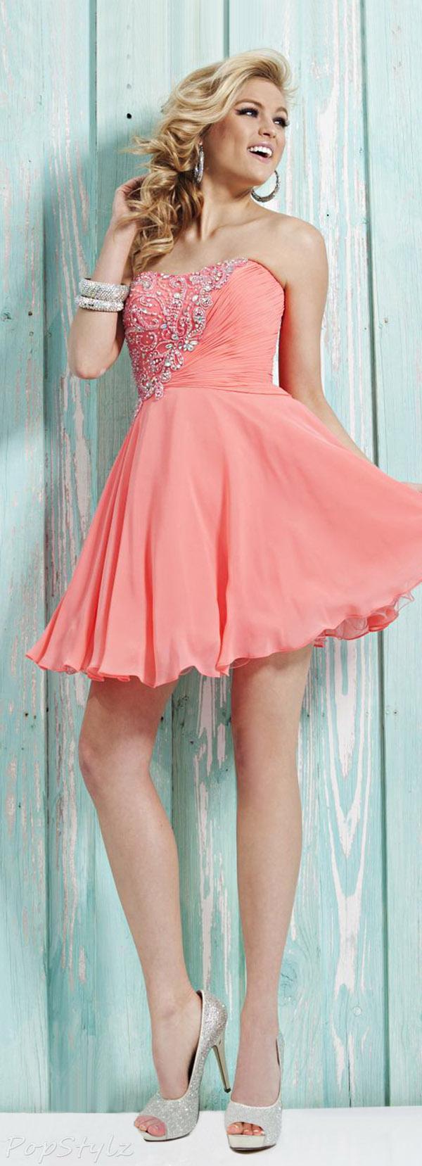 Tony Bowls TS21313 Short Dress