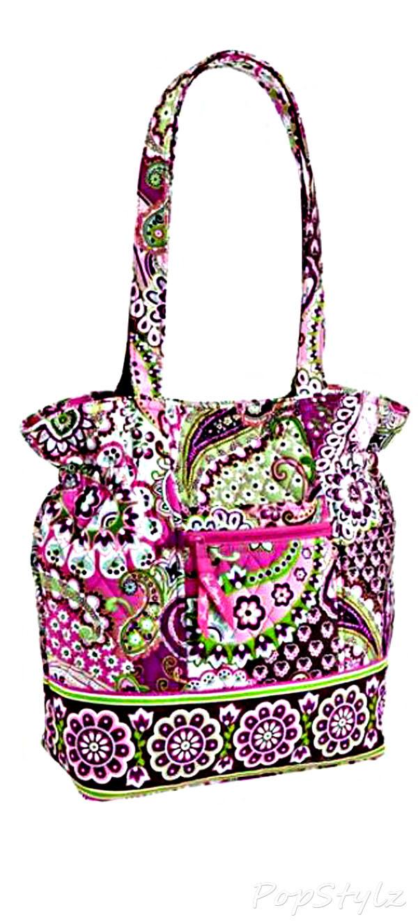 Vera Bradley Laura Very Berry Paisley Handbag