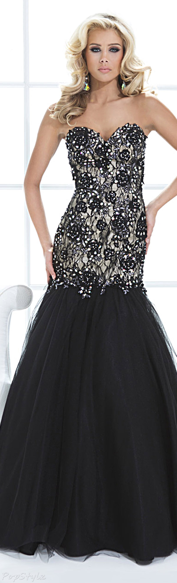 Tony Bowls Paris 114738 Evening Gown