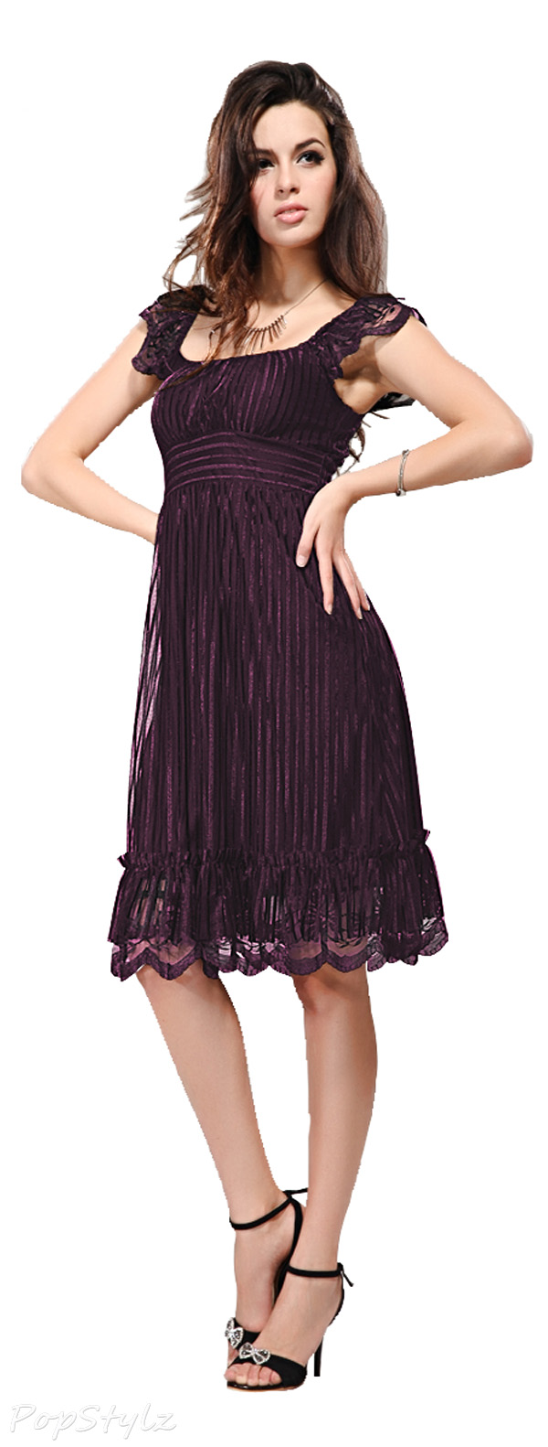 Ever Pretty 02713 Lace Cocktail Party Dress