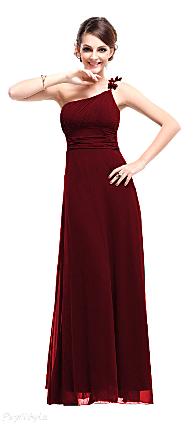 Ever Pretty 09596 One Shoulder Empire Line Formal Dress