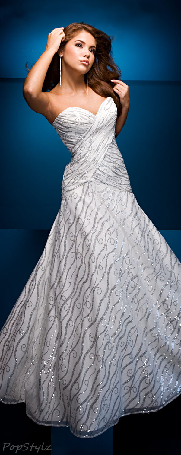 Tony Bowls110549 Strapless Gown
