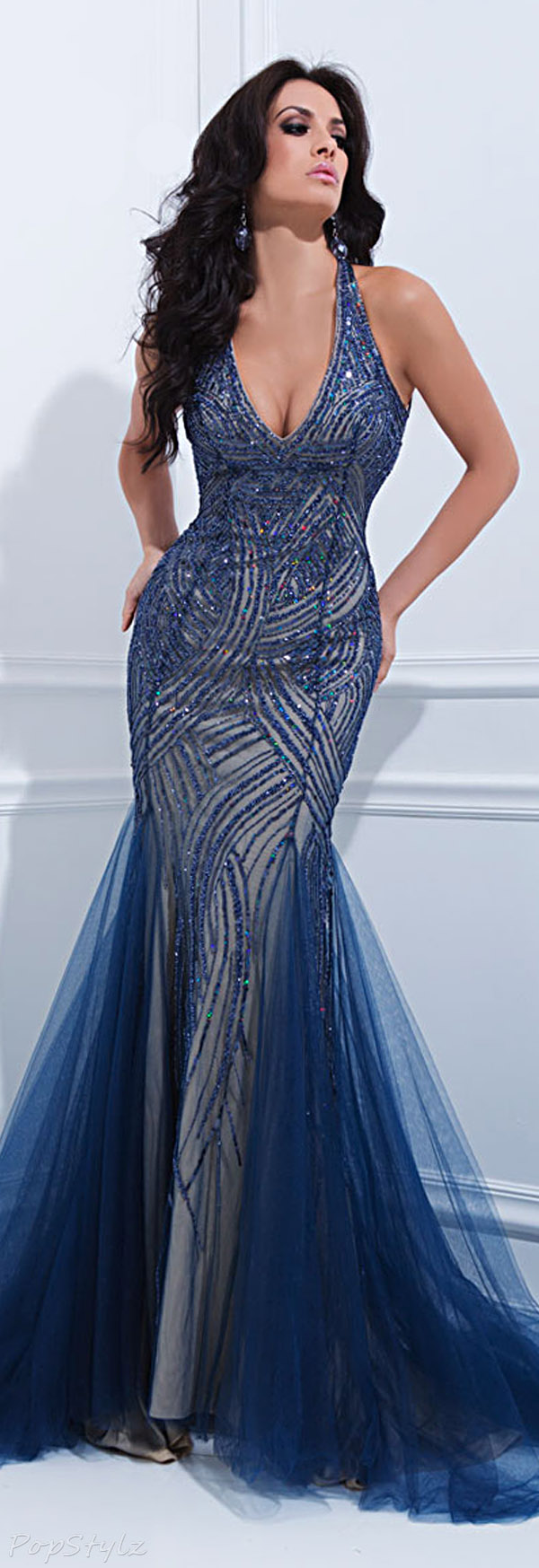 Tony Bowls 114728 Evening Gown