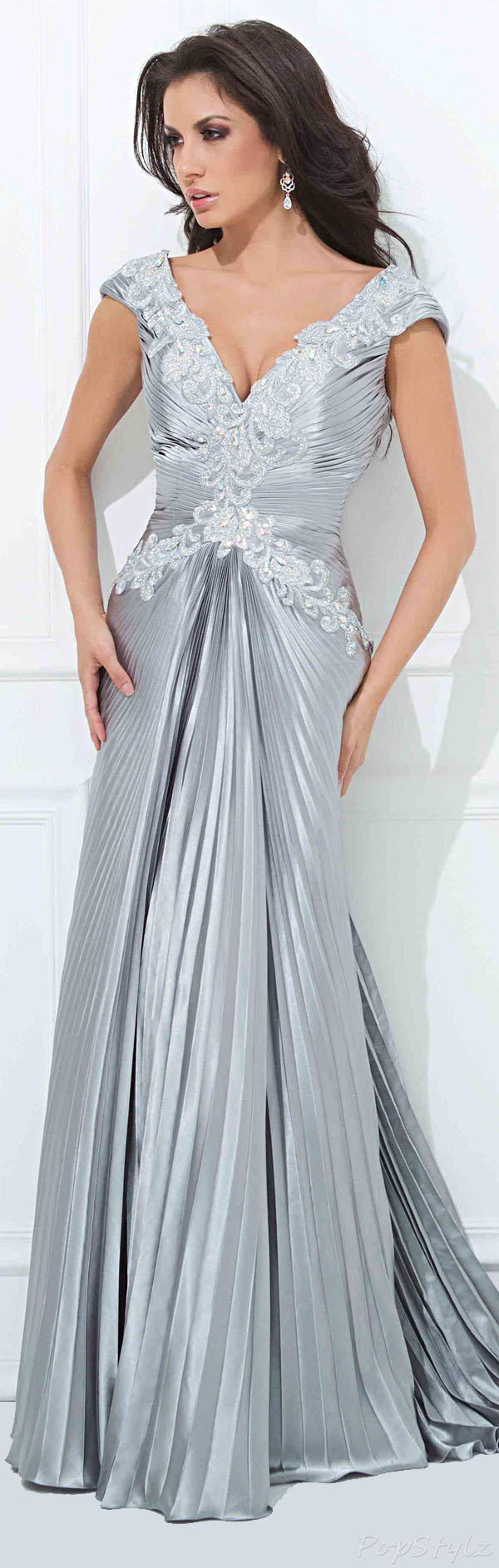 Tony Bowls 11441 Floor Length Long Evening Gown