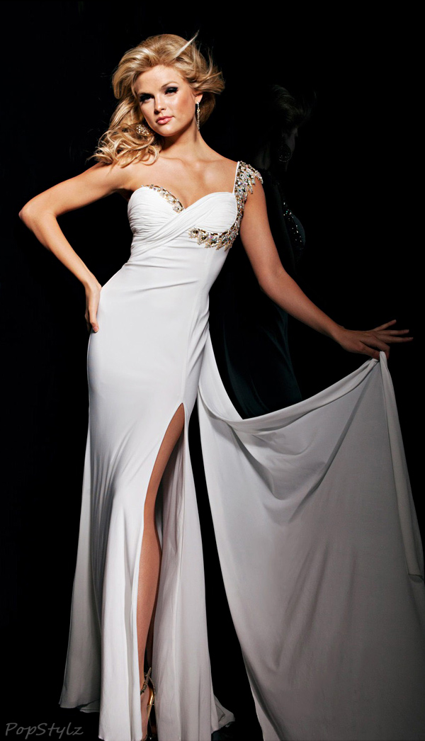 Tony Bowls TBE11325 Flowing Evening Gown