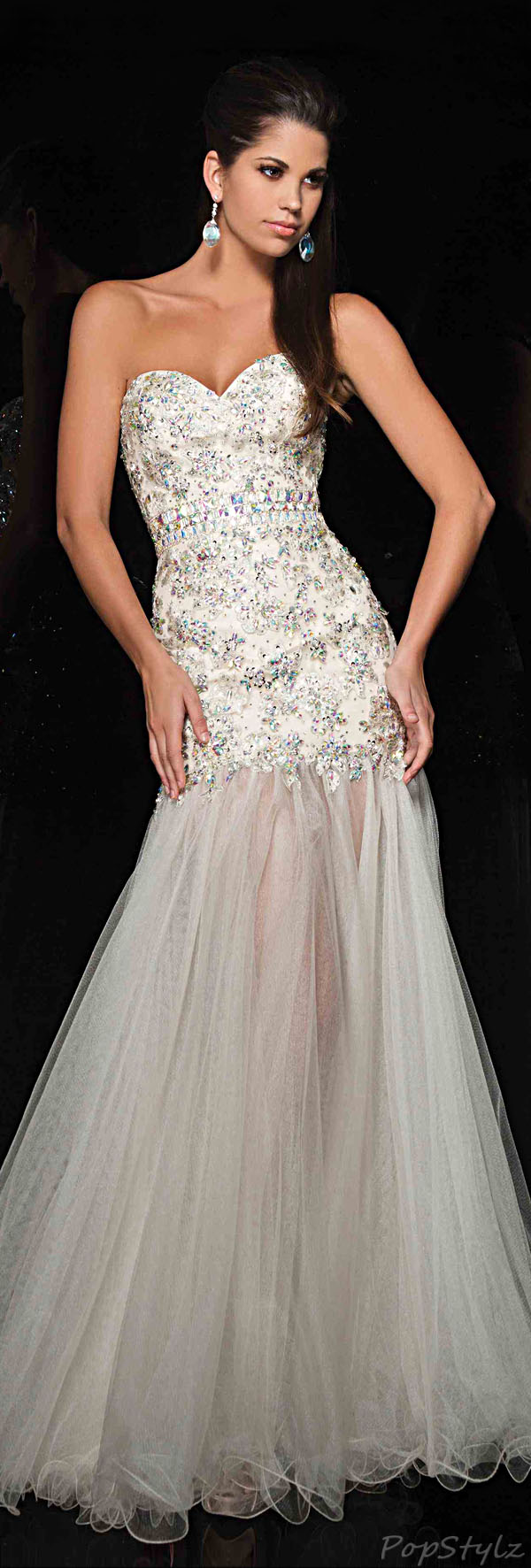 Tony Bowls TBE11437 Evening Gown