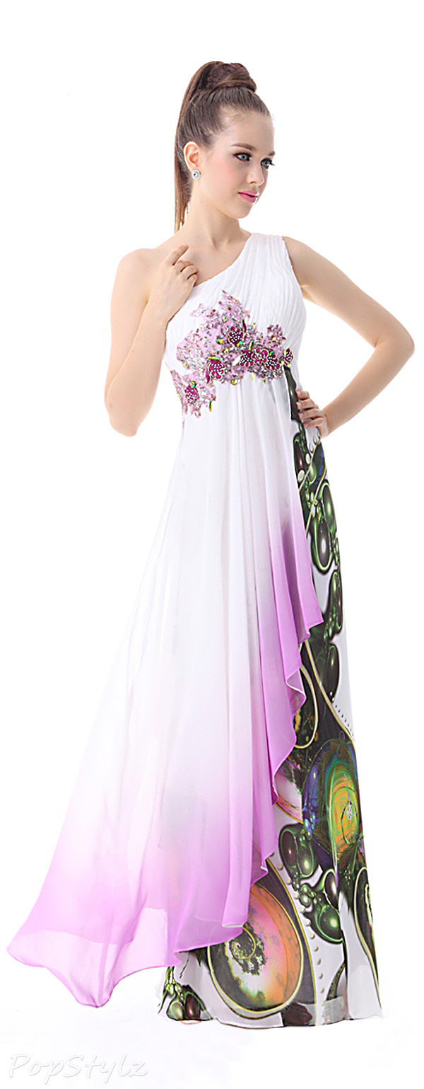 Ever Pretty 09868 Rhinestone Accents Evening Gown