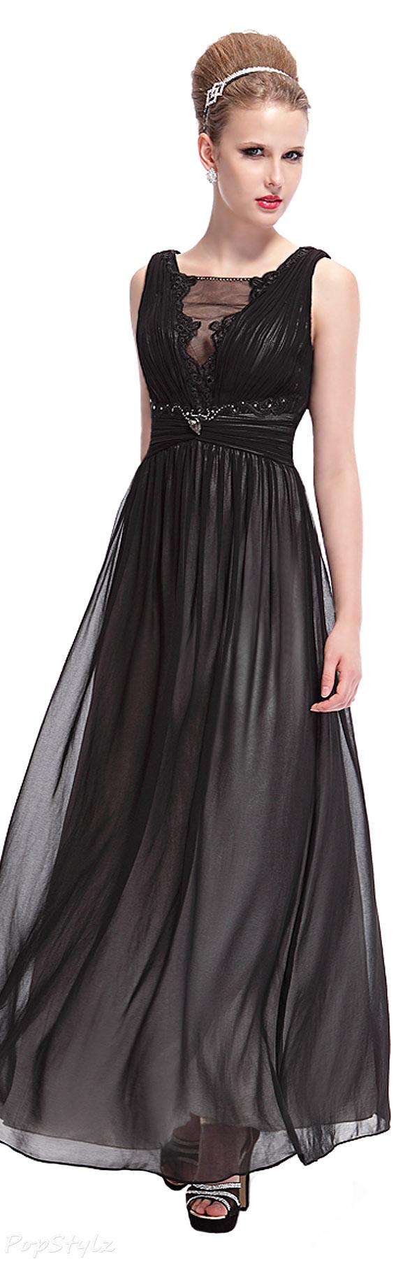 Ever Pretty 09992 Elegant Rhinestone Maxi Evening Dress