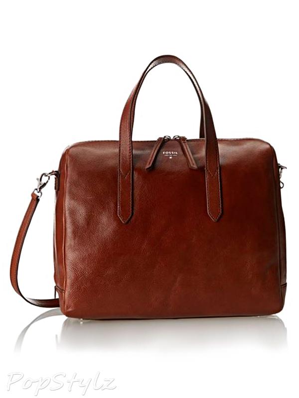 Fossil Sydney LG Satchel Leather Handbag