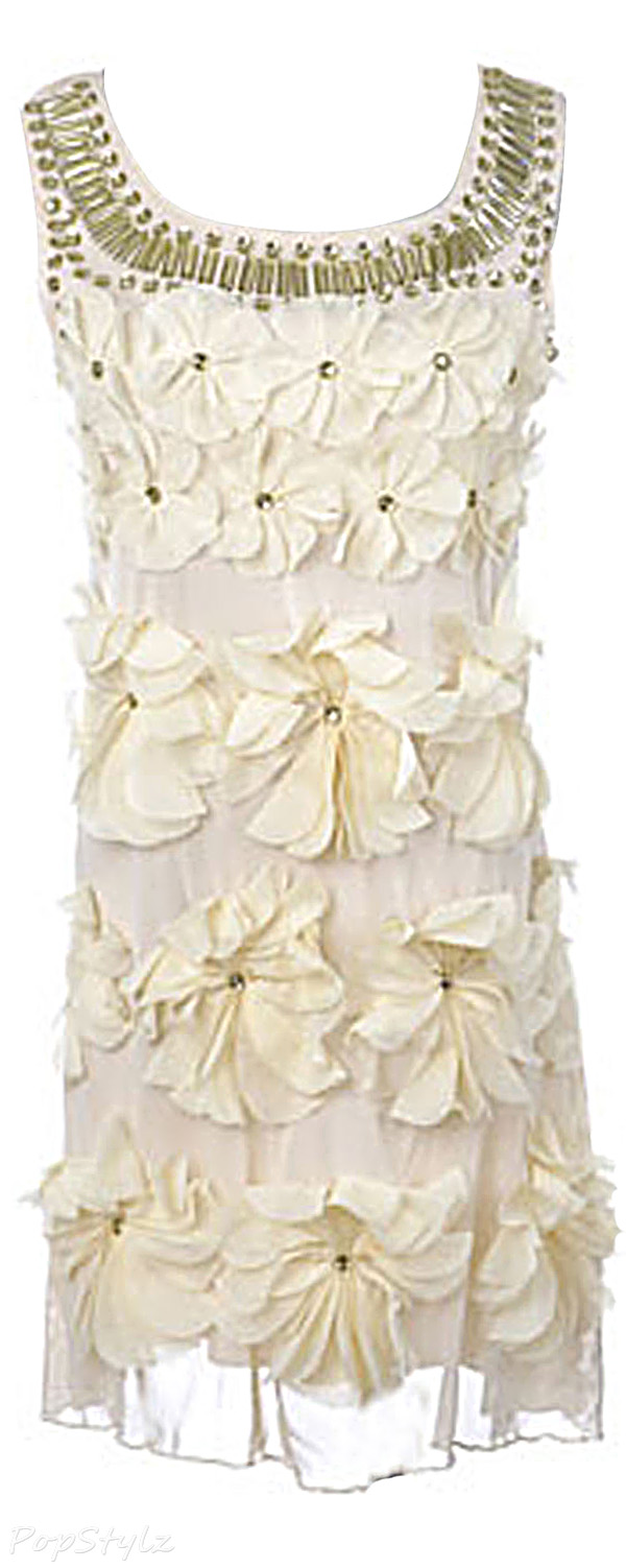 Anna-Kaci Wild Flower Petal Detail Dress