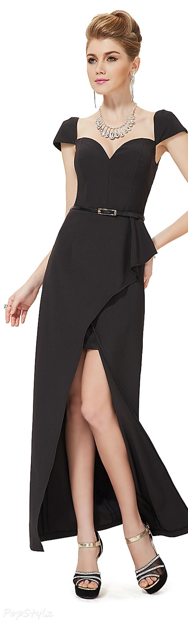 Ever Pretty 08201 Cap Sleeve Long Evening Dress