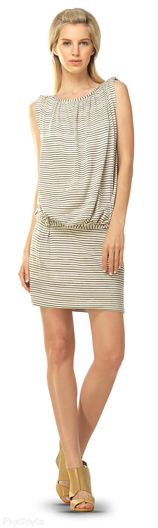 MAXSTUDIO Jersey Blouson Dress