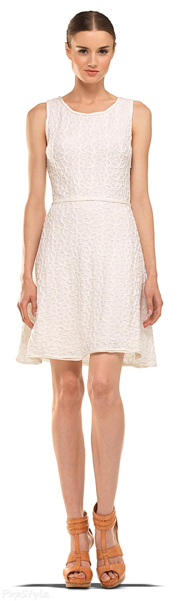 MAXSTUDIO Sleeveless Fit Flare Dress