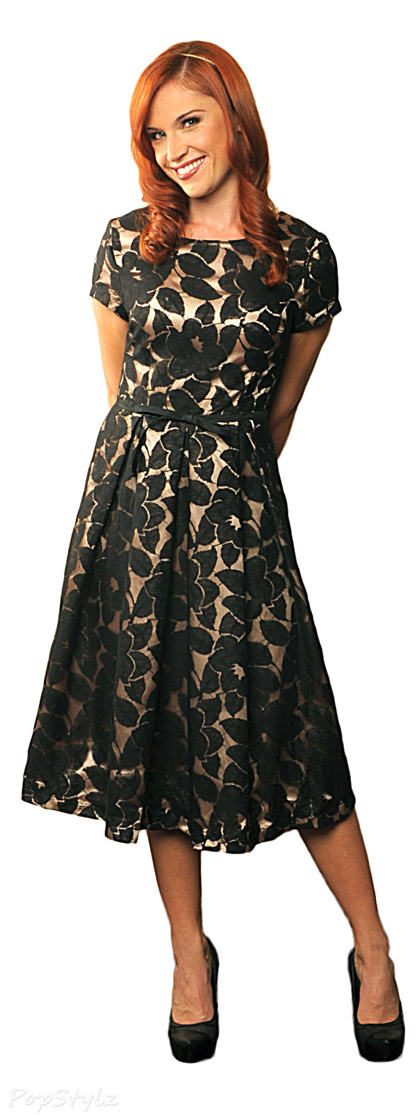 Mikarose Black Lace Dress - Renee