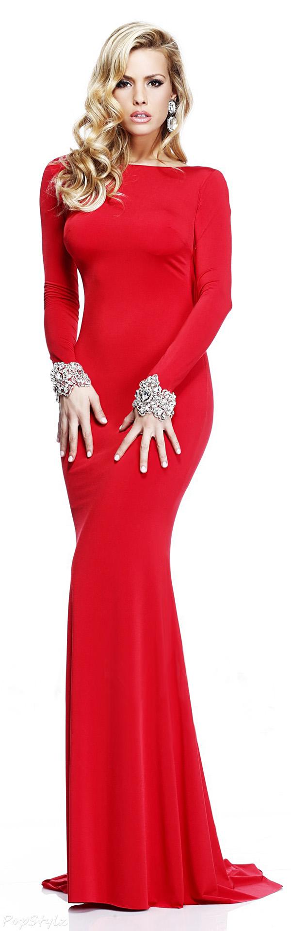Tarik Ediz 92271 Long Evening Gown