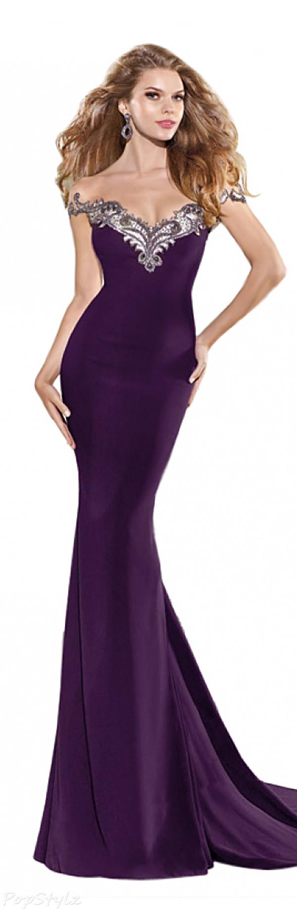 Tarik Ediz 92338 Evening Gown