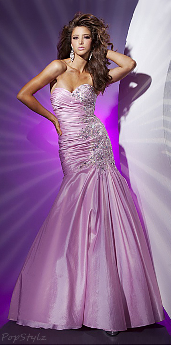 Tony Bowls 112520 Strapless Evening Gown