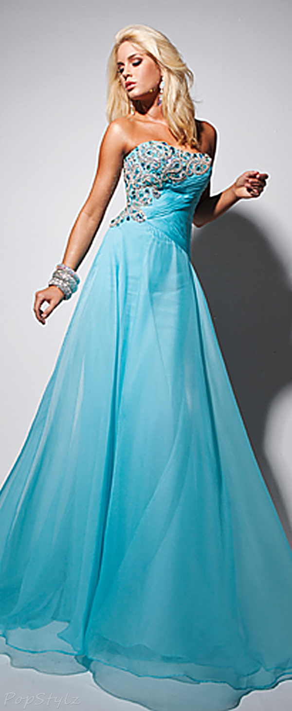 Tony Bowls113553 Stapless Evening Gown