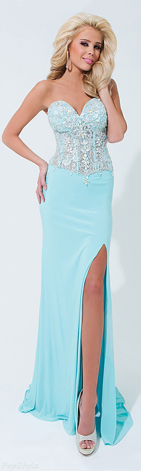 Tony Bowls Paris 114729 Evening Gown