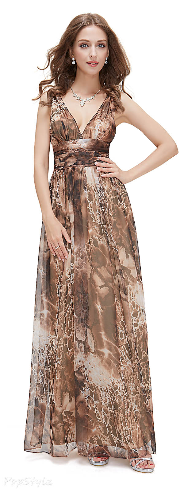 Ever Pretty 09017 Chiffon Maxi Dress