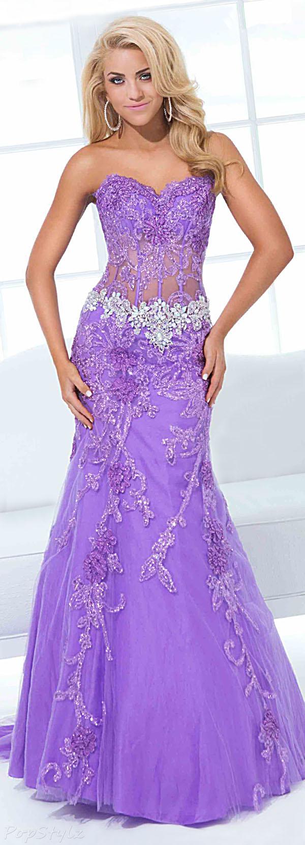 Tony Bowls 114734 Strapless Mermaid Dress