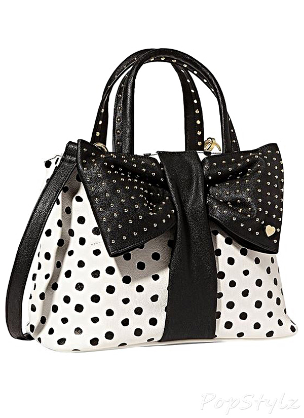 Betsey Johnson BJ34015 Bow Tie Handbag