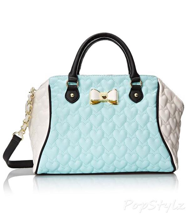 Betsey Johnson Be My Bow Handbag