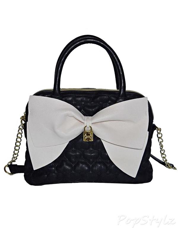 Betsey Johnson Be Mine Bow Handbag