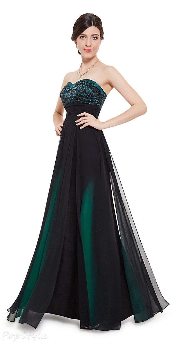 Ever Pretty 08070 Sweetheart Strapless Long Evening Gown