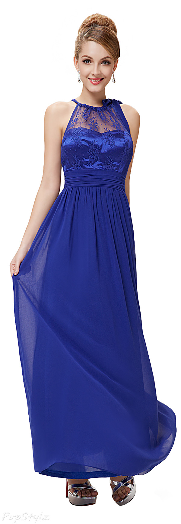 Ever Pretty 08170 Illusion Long Evening Dress