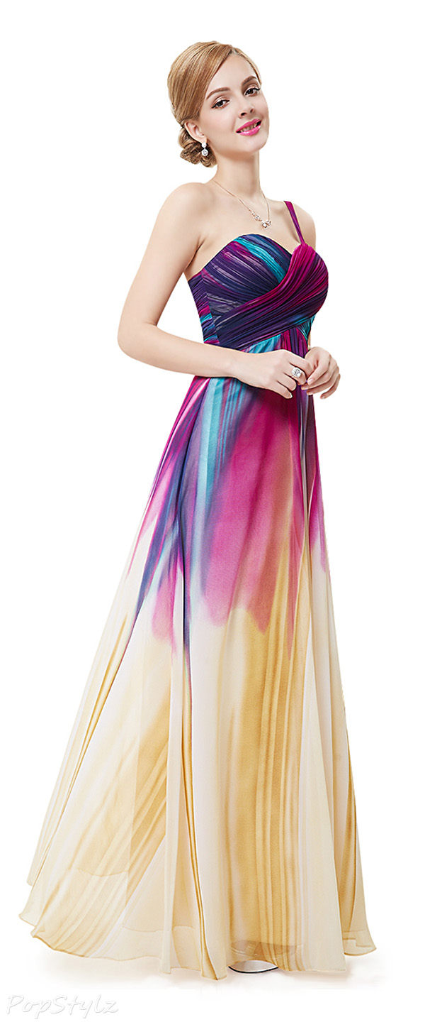 Ever Pretty 08462 Colorful Long Formal Gown