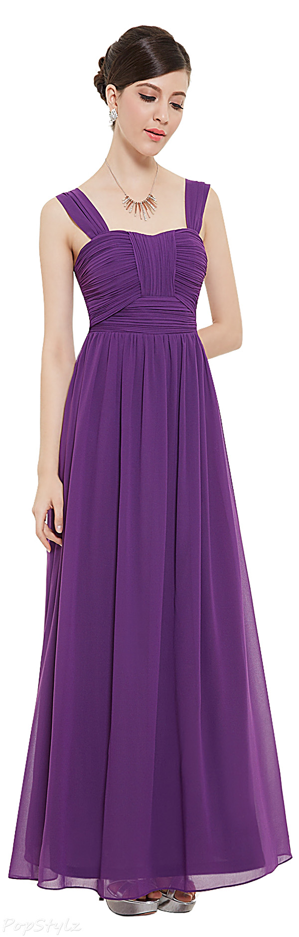 Ever Pretty 08504 Sleeveless Ruched Bust Long Formal Dress