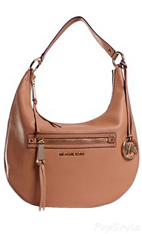 Michael Kors Rhea Zip Medium Leather Handbag