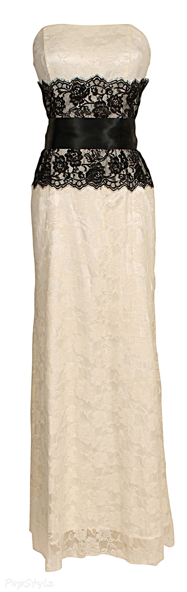 PacificPlex Long Lace Formal Gown