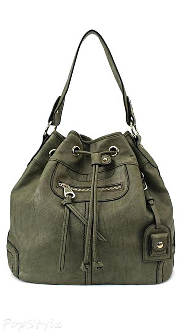 Scarleton H1078 Large Drawstring Handbag