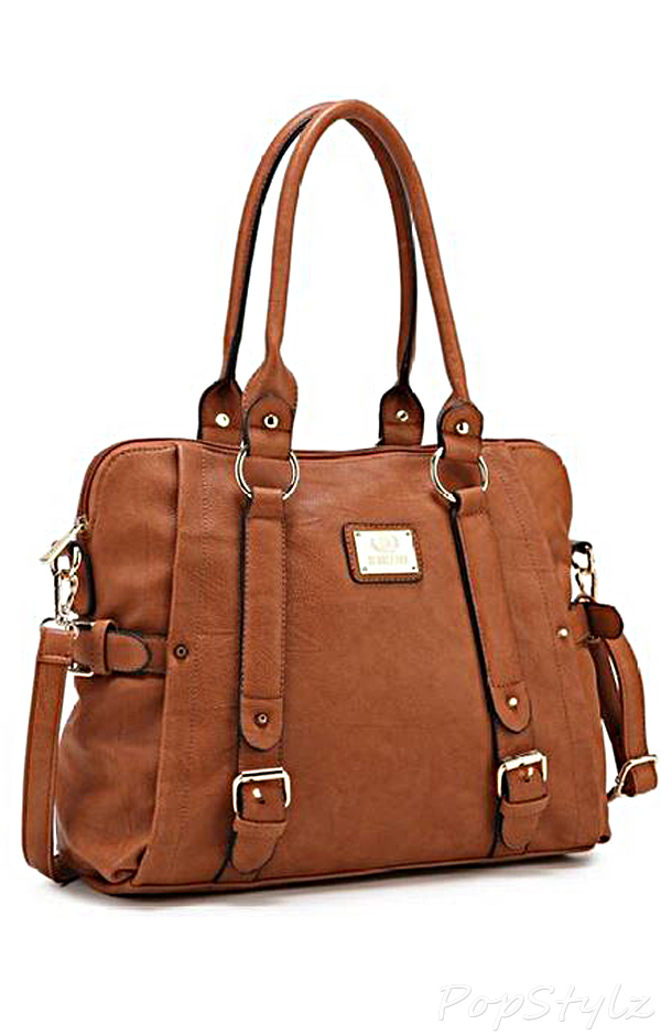 Scarleton H1264 Belt Accent Tote Bag