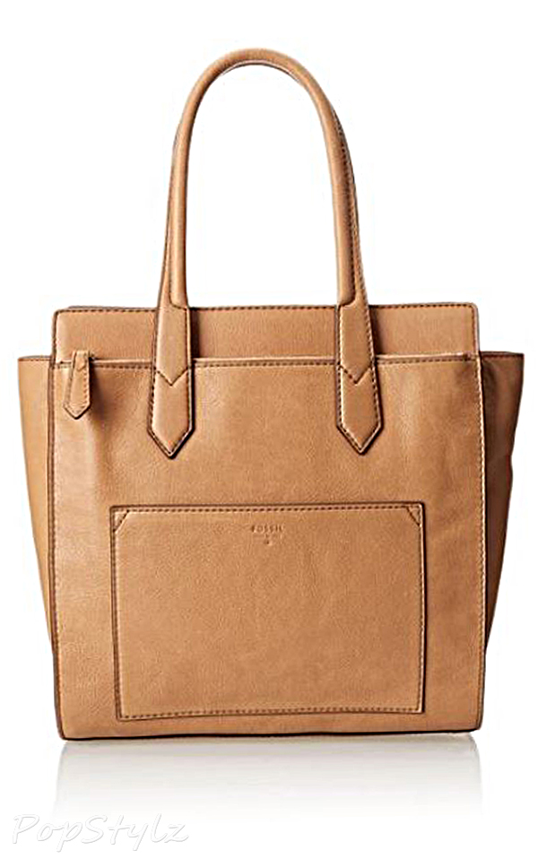 Fossil Leather Shoulder Handbag