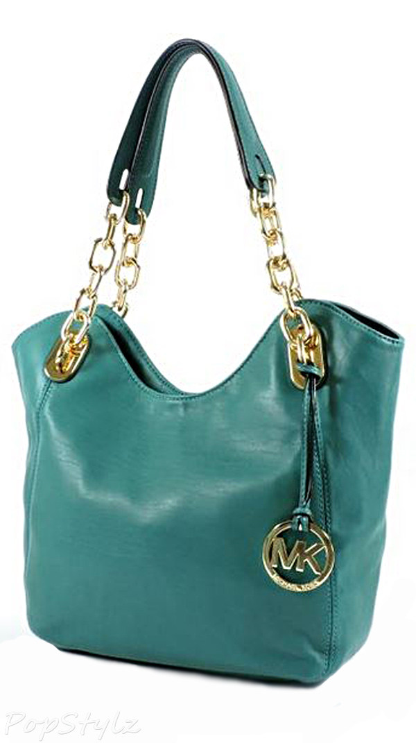 Michael Kors Lilly Medium Leather Tote
