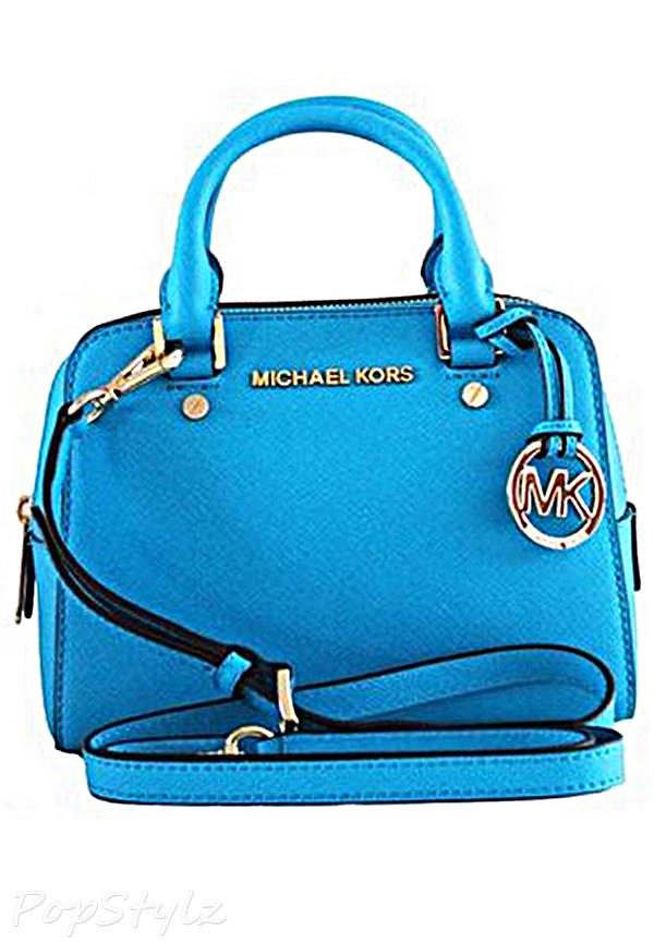 Michael Kors Jet Set Small Saffiano Leather Travel Satchel