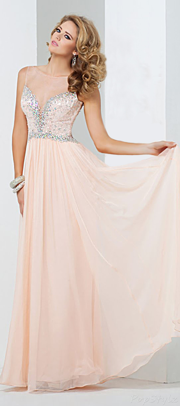 Tony Bowls Lovely Sweetheart Gown