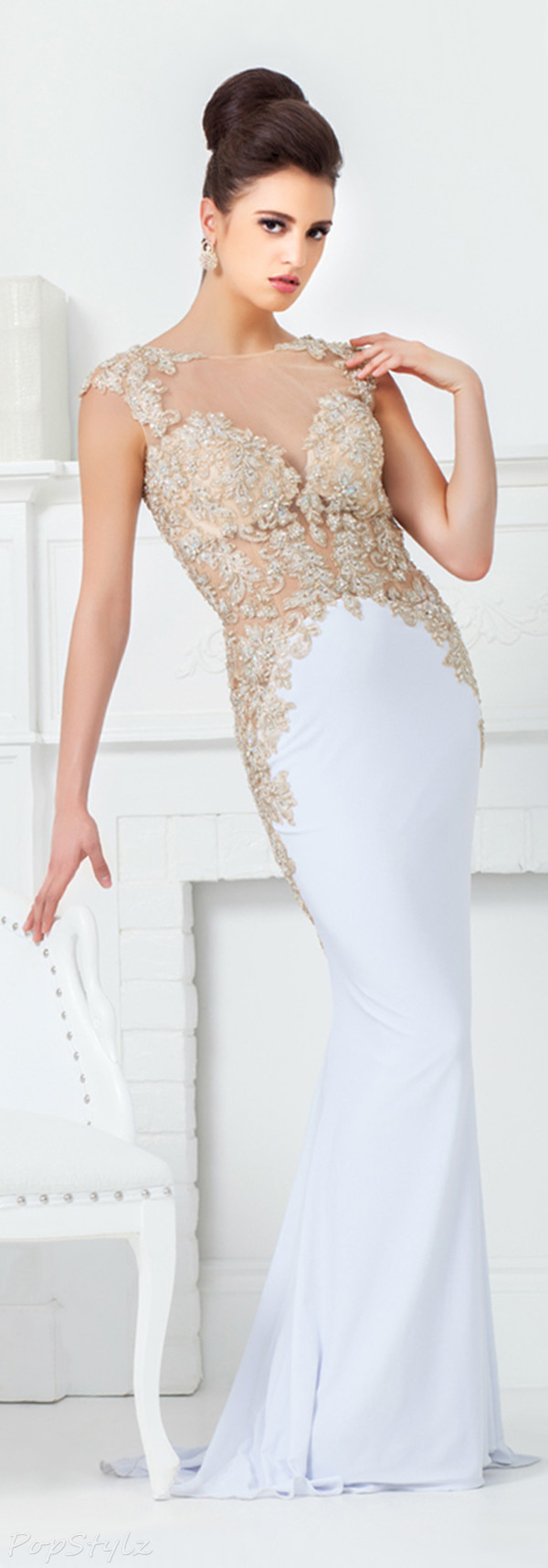 Tony Bowls TBE11518 Long Evening Gown
