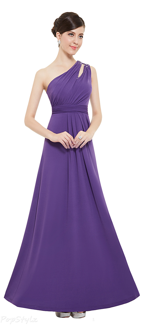 Ever Pretty 08497 One Shoulder Long Evening Gown