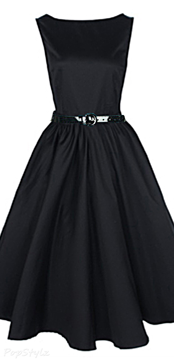 Lindy Bop Vintage 50's Audrey Hepburn Style Rockabilly Swing Dress