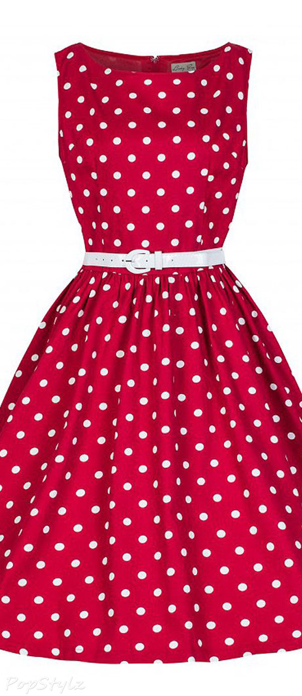 Lindy Bop Classy Vintage Audrey Hepburn Style 1950's Rockabilly Swing Dress